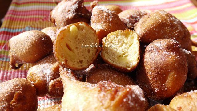 Beignets aux pommes & à la vanille