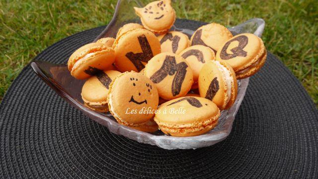 Macarons au chocolat blanc & noix de coco