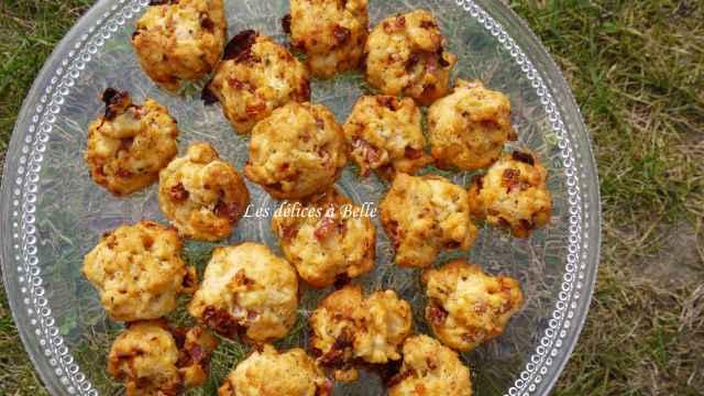 Cookies au jamboon & aux tomates confites
