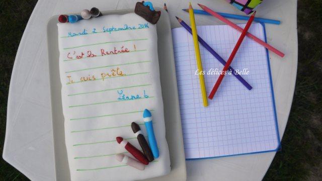 Mon cahier pour la rentrée 2014