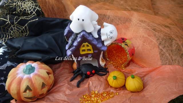 Cake pops d'Halloween