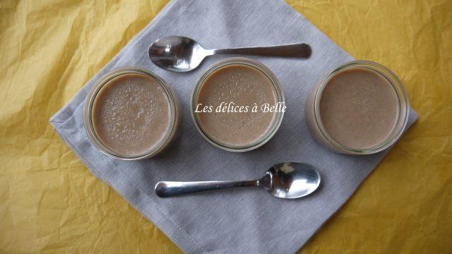 Petits desserts au tofu soyeux & à la crème de marrons
