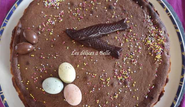 Tarte brownie au chocolat