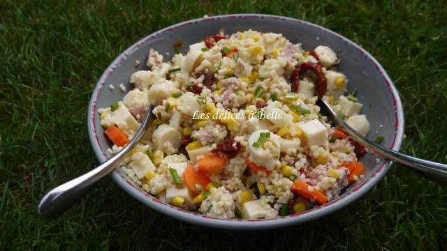 Salade de perles toute en couleur
