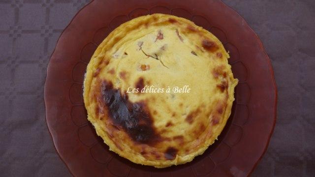 Flan pâtissier de Christophe Michalak aux abricots