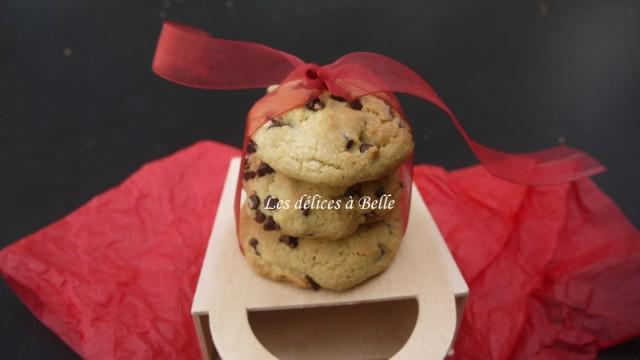 Cookies au pépites de chocolat fourrés au Nutella