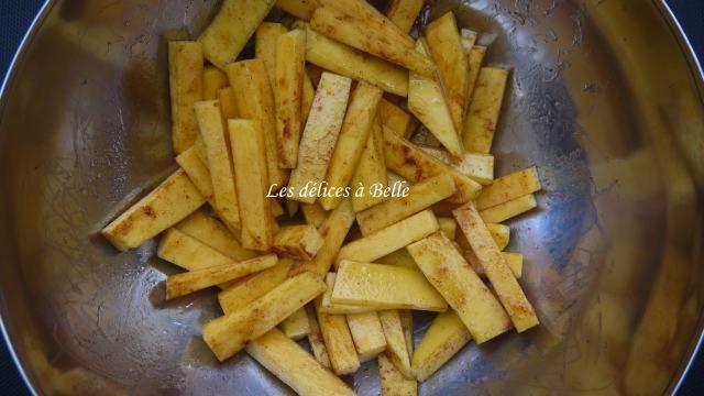 Frites de Butternut au paprika