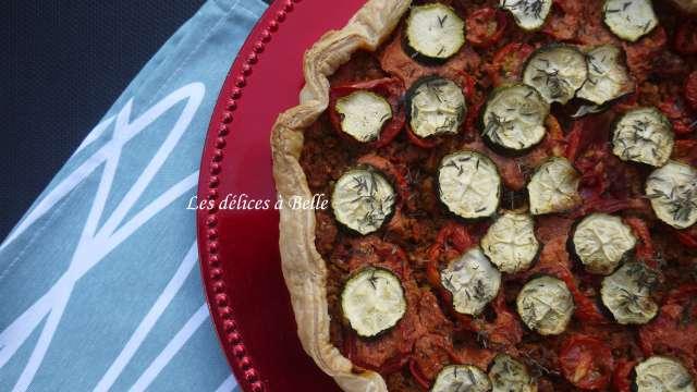 Tarte vegan quinoa & boulghour