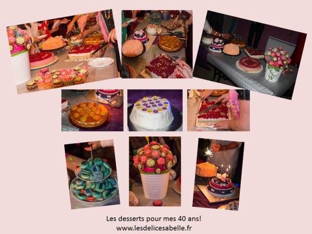 Mes 40 ans en desserts