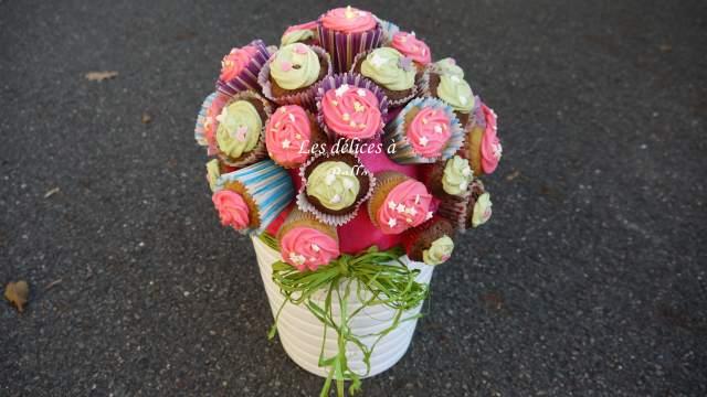 Mon bouquet de cupcakes