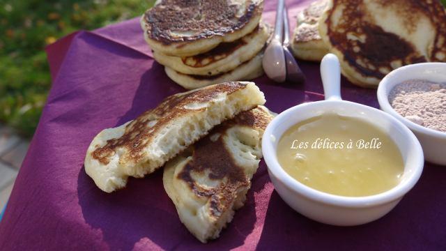 Les pancakes de Cyril Lignac