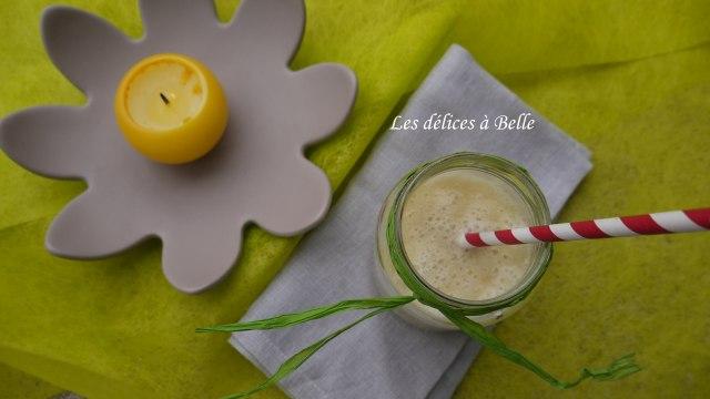 Smoothie ananas-banane