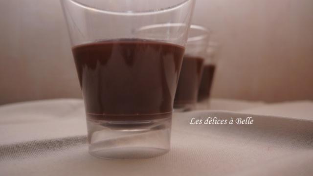 Danette maison au chocolat