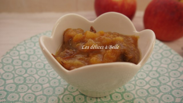 Compote pomme-prune