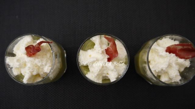 Caviar de courgettes & chantilly à la grana