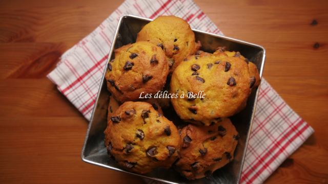 Cookies au potimarron & pépites de chocolat