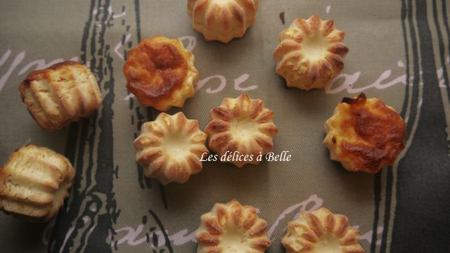 Mini-cannelés au Petit Billy