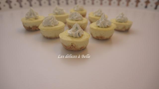 Mini-cheesecakes au Boursin