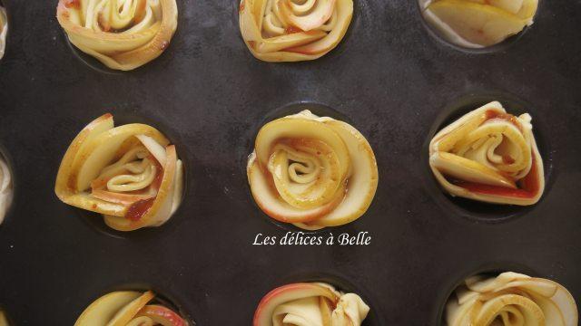 Roses feuilletées pommes & figues