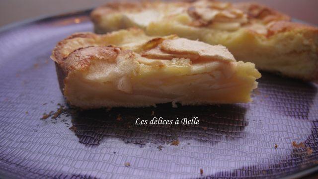 Gâteau normand aux pommes