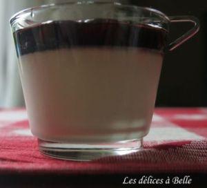 Panna cotta vanille & cerises Amarena