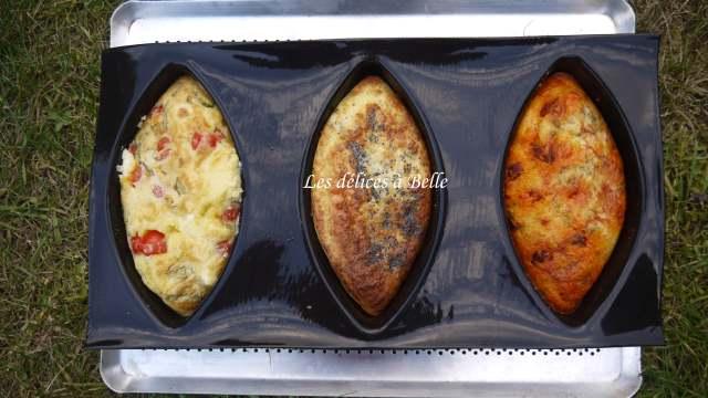 Cakes Amandiers aux 3 saveurs