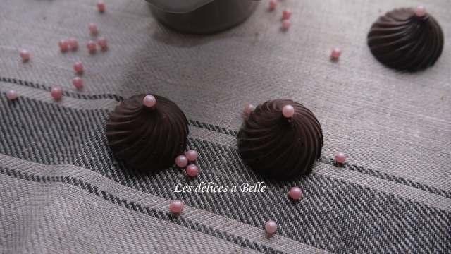 Tourbillons pétillants au chocolat