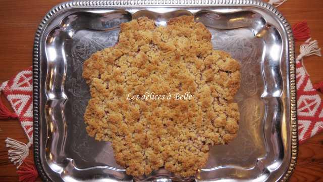 Crumb cake citron-framboise