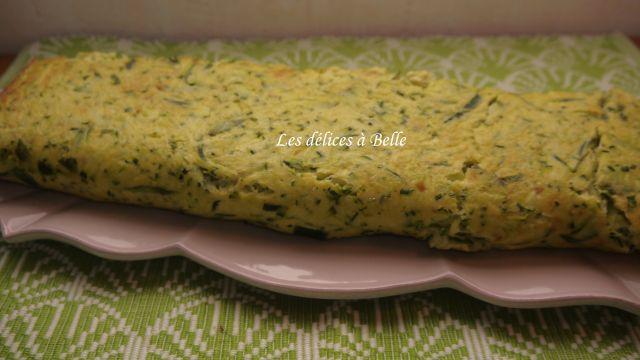 Roulé aux courgettes, cheddar & chorizo