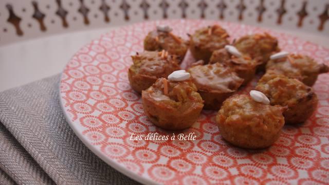 Mini carrot-cakes