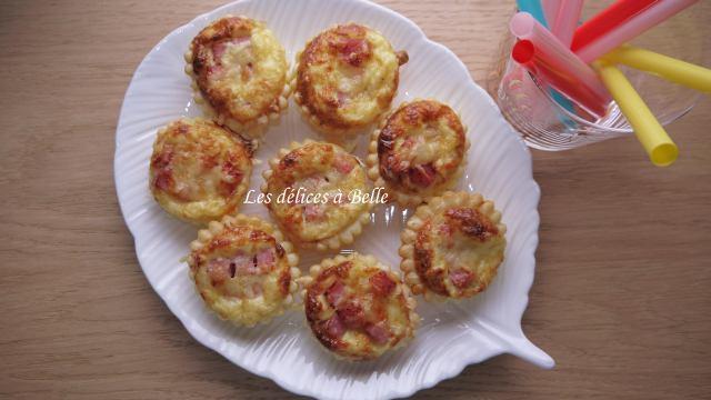 Mini-quiches au jambon