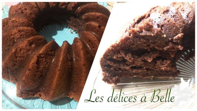 Gâteau au chocolat aérien sans gluten