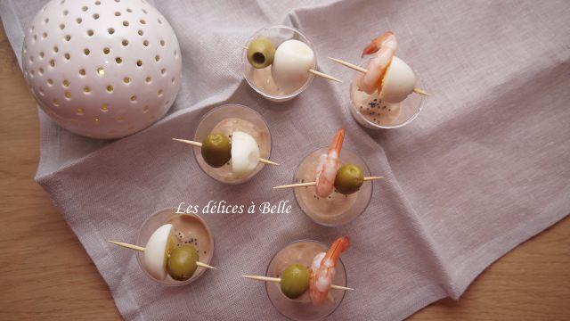 Mousse de thon, tomate & asperge