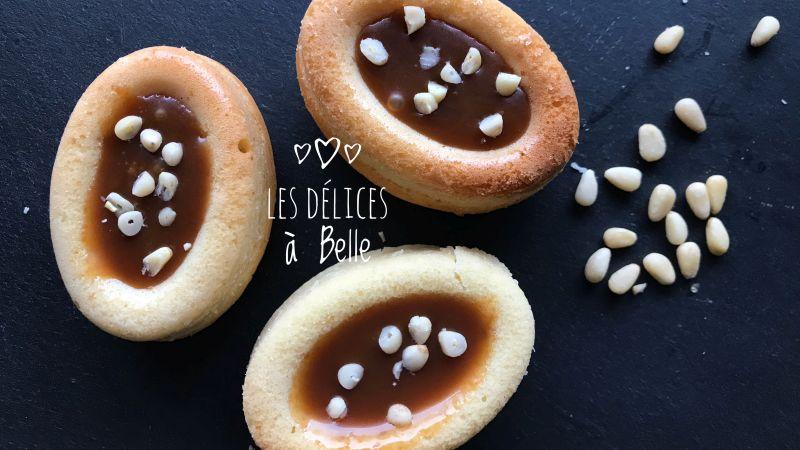 Savarins vanille et caramel au beurre salé