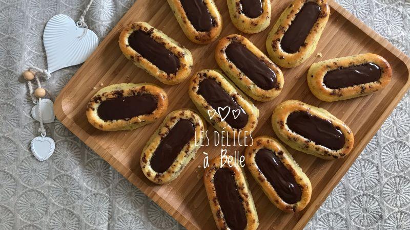 Barquettes Savarins citron et chocolat