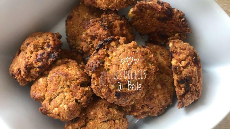 Cookies salés aux tomates confites