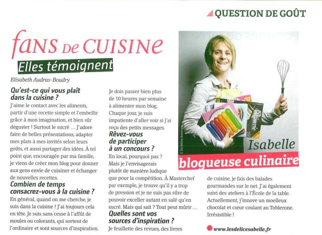 Article Edith Magazine Novembre 2013